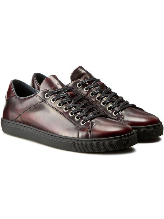 Tommy Hilfiger Tommy Hilfiger Sneakersy Mount 4Z FM56821957 Bordowy