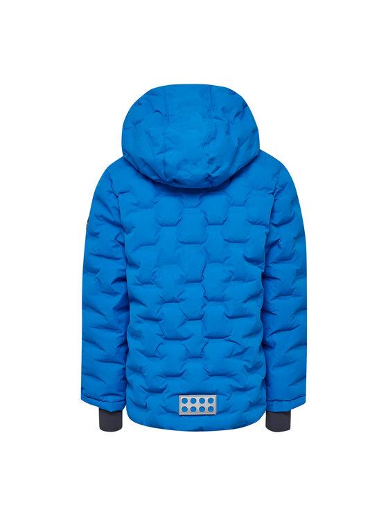LEGO Wear LEGO Wear Vatovaná bunda Narciarska LWJordan 713 21470 Modrá Regular Fit