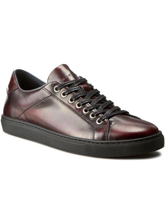 Tommy Hilfiger Tommy Hilfiger Sneakersy Mount 4Z FM56821957 Bordová