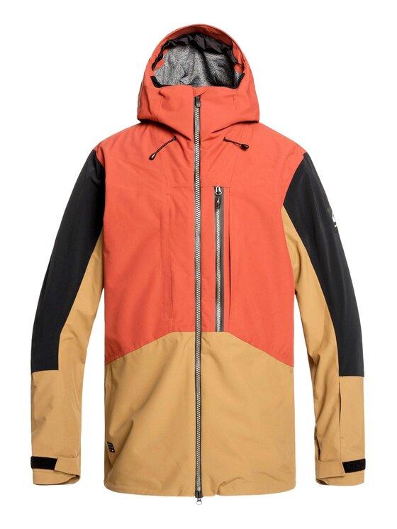 Quiksilver Quiksilver Snowboardová bunda Travis EQYTJ03231 Oranžová Modern Fit