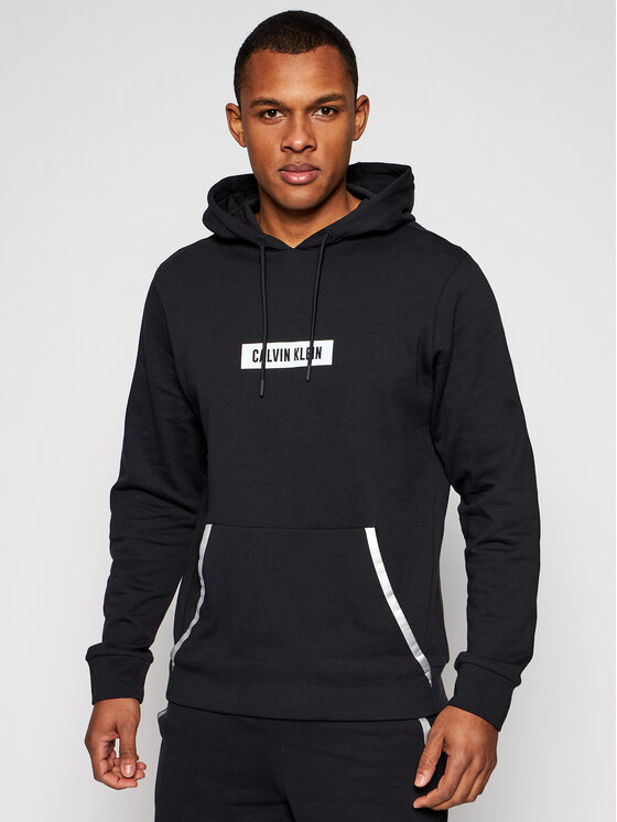 Calvin Klein Performance Džemperis 00GMS1W361 Juoda Regular Fit