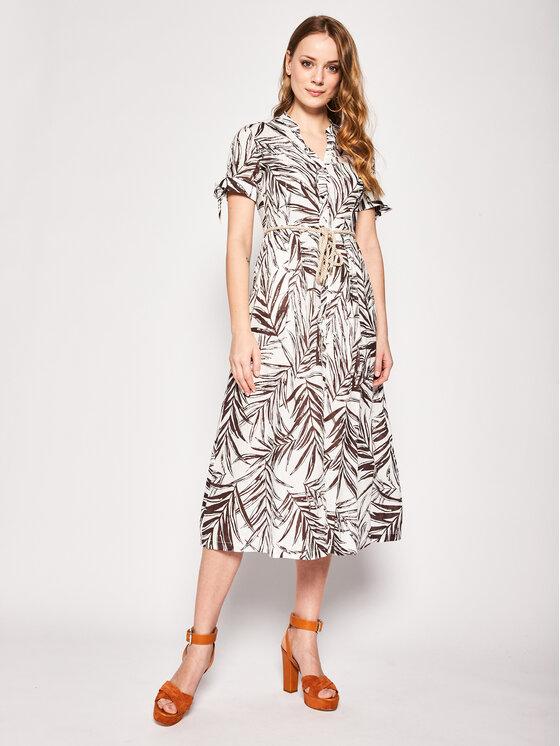 Pennyblack Marškinių tipo suknelė Manuela 22210420 Balta Regular Fit