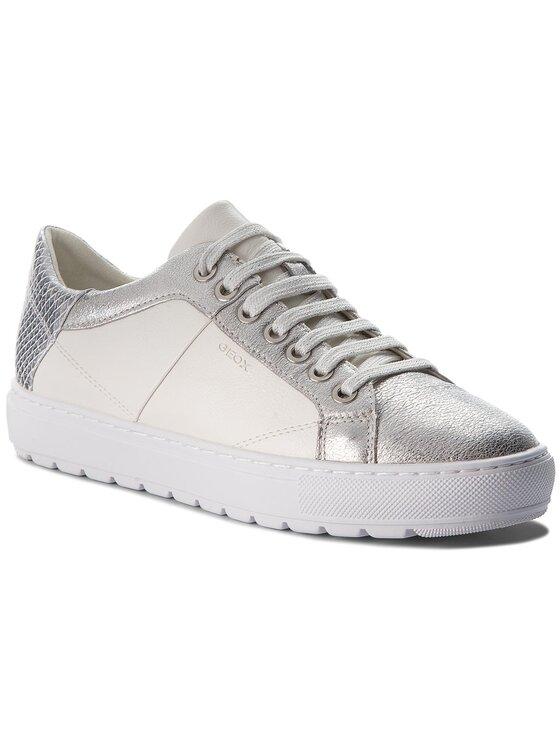 Geox Geox Sneakers D Breeda D D822QD 0BCKY C0007 Weiß