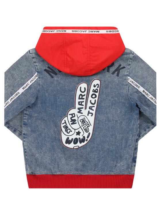Little Marc Jacobs Little Marc Jacobs Kurtka przejściowa W26101 Niebieski Regular Fit