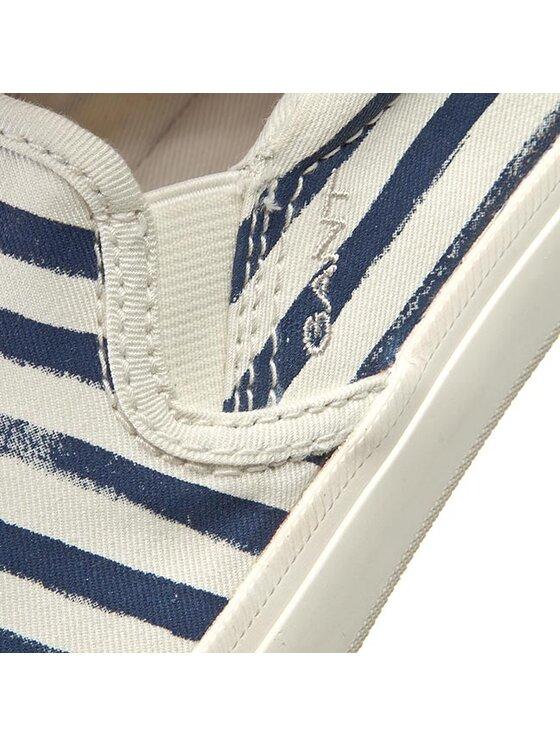 Gant Gant Πάνινα παπούτσια Zoe 12578258 Λευκό