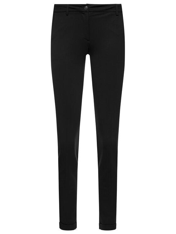 Liu Jo Liu Jo Текстилни панталони F69279 J5580 Черен Regular Fit