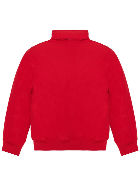 TOMMY HILFIGER TOMMY HILFIGER Kurtka puchowa Essential KB0KB06094 Czerwony Regular Fit