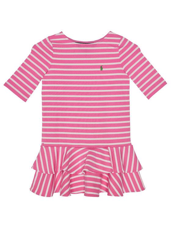 Polo Ralph Lauren Polo Ralph Lauren Každodenní šaty 312784200 Růžová Regular Fit