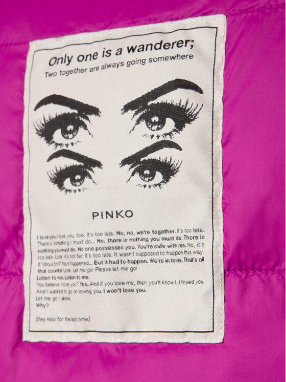 Pinko Pinko Cappotto invernale Vorrei AI 19-20 PBK2 1B140C Y5SG Rosa Regular Fit