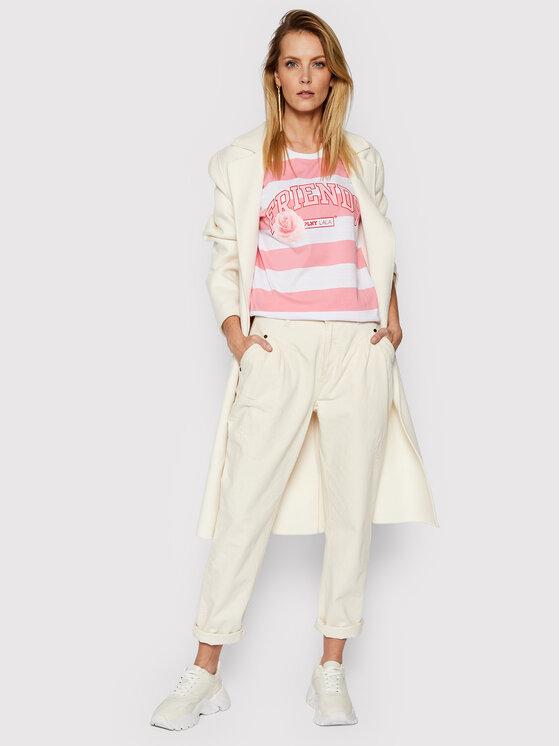PLNY LALA PLNY LALA T-Shirt Friends PL-KO-CL-00197 Różowy Classic Fit