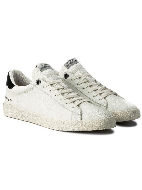 Pepe Jeans Pepe Jeans Sneakersy Portobello Edt PMS30394 Bílá