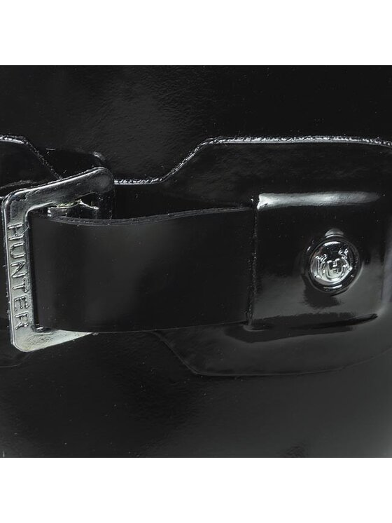 Hunter Hunter Гумени ботуши Original Gloss Short WFS1000RGL Черен