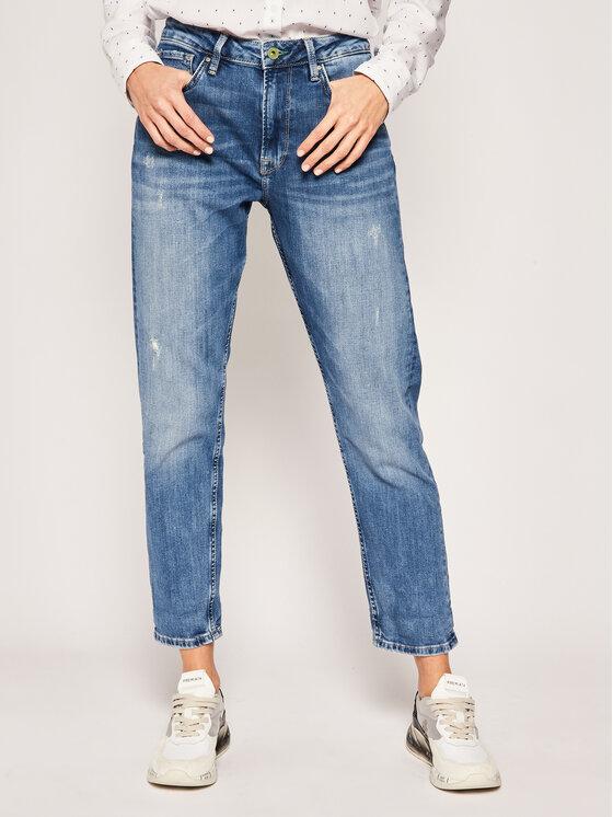Pepe Jeans Pepe Jeans Τζιν Boyfriend Brigde PL203610WF5 Μπλε Taper Fit