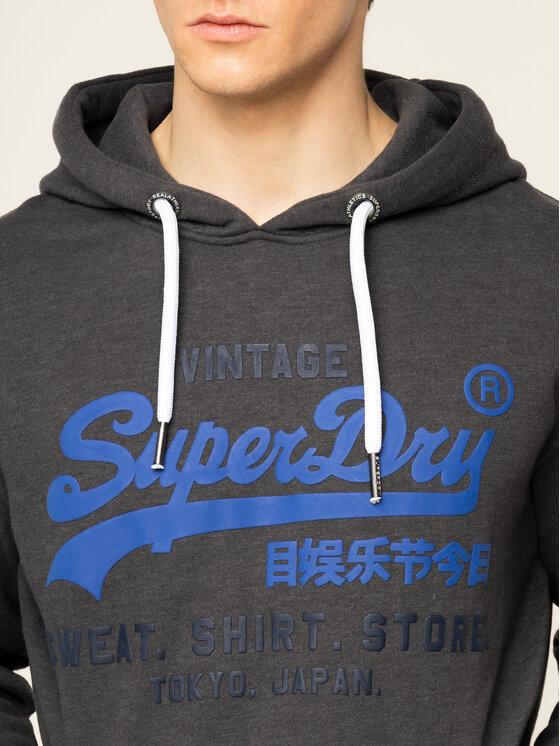 Superdry Superdry Mikina Shop Duo M20004NS Šedá Regular Fit
