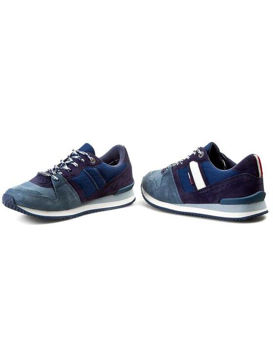 Tommy Hilfiger Tommy Hilfiger Laisvalaikio batai DENIM - Roan 1C-1 EM56818778 Mėlyna