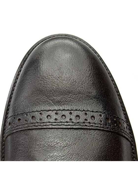Tommy Hilfiger Tommy Hilfiger Kotníková obuv Jeff 1A Gtx FM56821883 Černá