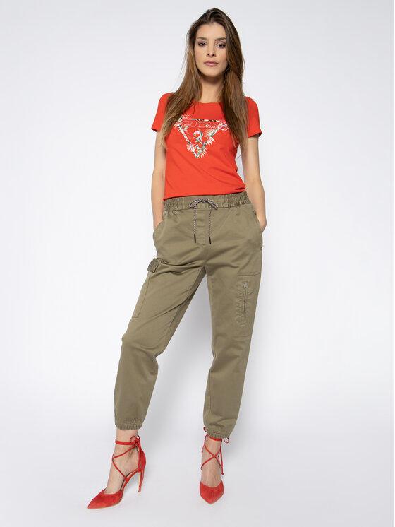 Guess Guess T-Shirt Rose W0GI33 J1300 Κόκκινο Regular Fit