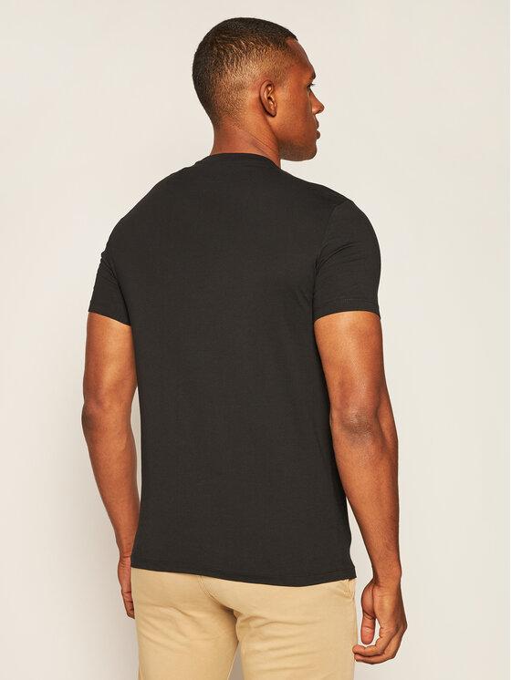 Armani Exchange Armani Exchange T-Shirt 6HZTFC ZJBVZ 1200 Černá Slim Fit