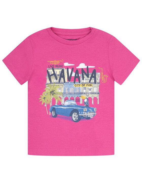 Mayoral Mayoral T-Shirt 1026 Różowy Regular Fit