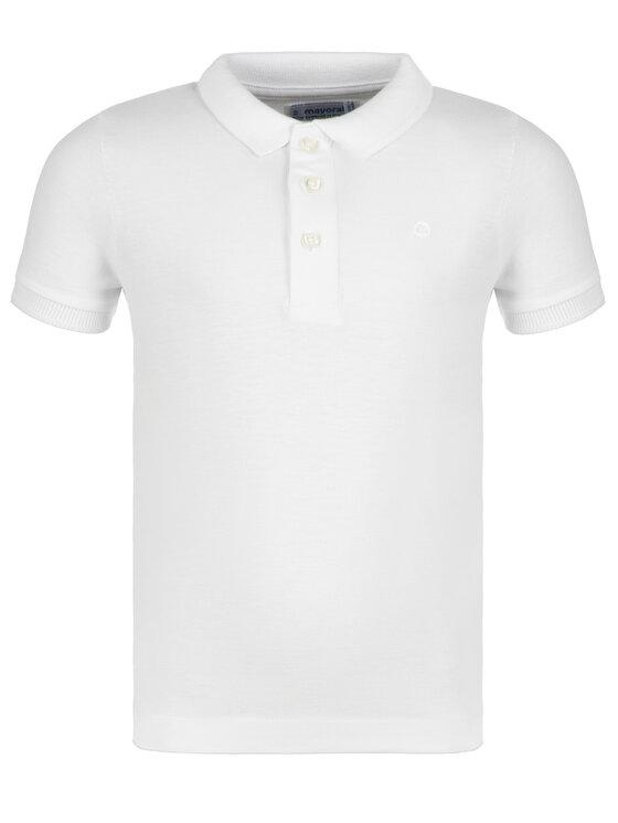 Mayoral Mayoral Polo marškinėliai 150 Balta Regular Fit