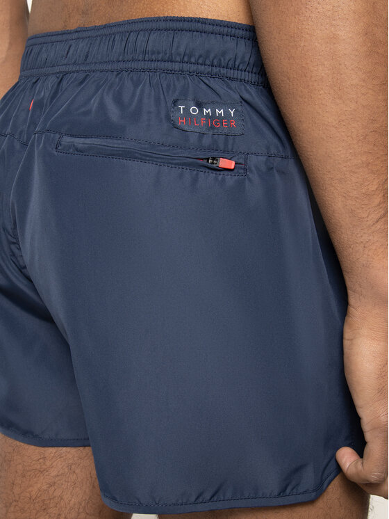 Tommy Hilfiger Tommy Hilfiger Short de bain Runner UM0UM01703 Bleu marine Regular Fit