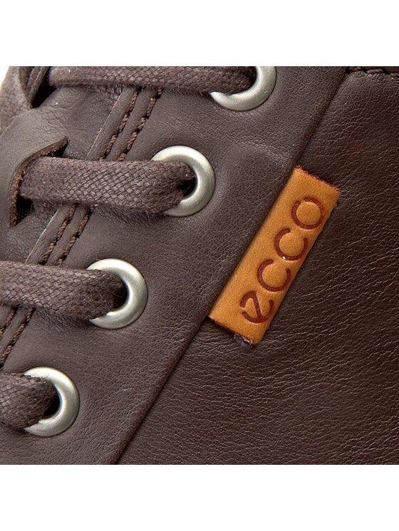 ECCO ECCO Sneakersy Soft 7 Men's 43000401178 Hnědá