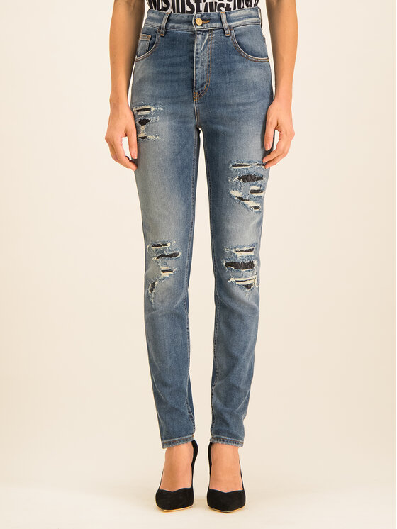 Just Cavalli Just Cavalli Jeans S02LA0168 Dunkelblau Slim Fit