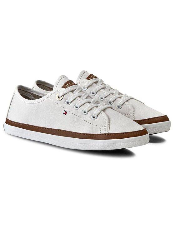 Tommy Hilfiger Tommy Hilfiger Sneakers aus Stoff Kesha 6D FW56820798 Weiß