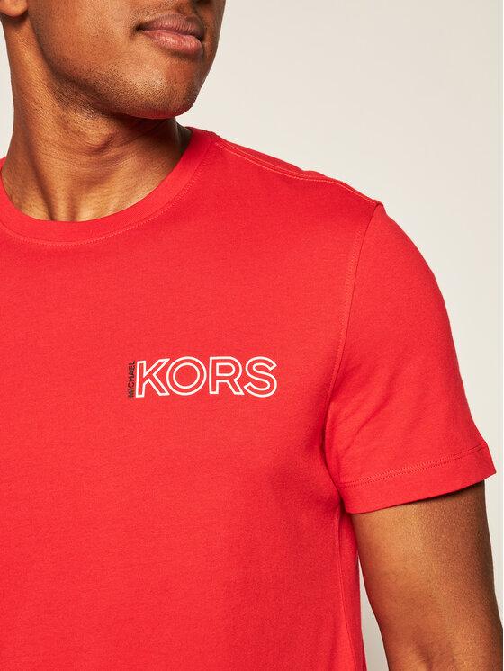 MICHAEL Michael Kors MICHAEL Michael Kors T-Shirt Logo CU05JJWFV4 Červená Regular Fit
