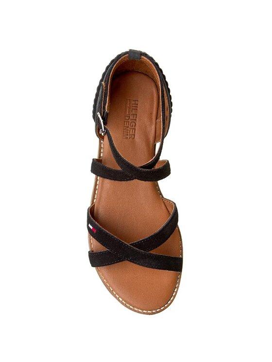 Tommy Hilfiger Tommy Hilfiger Sandále DENIM Suky 2C EN56818701 Čierna