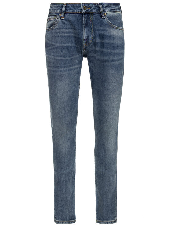 Guess Guess jeansy Skinny Fit M93AN1 D3I31 Blu scuro Skinny Fit