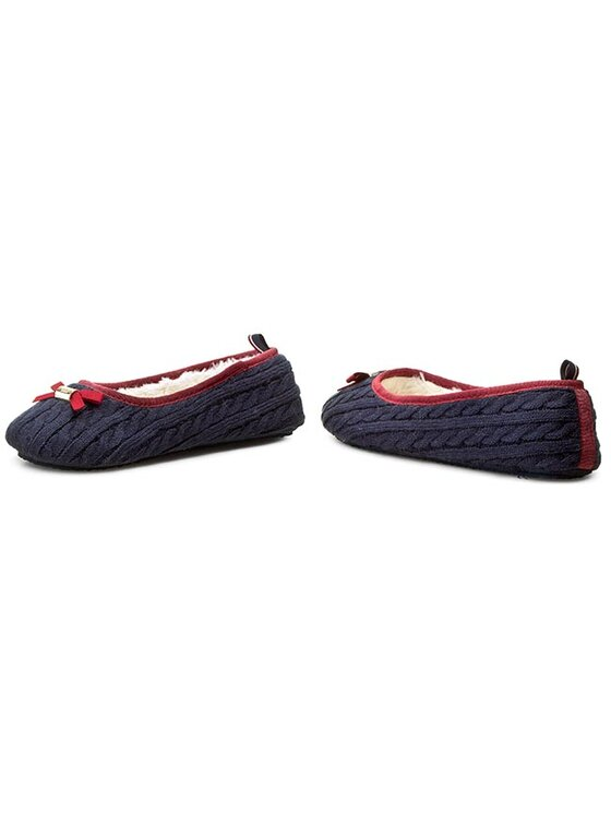 Tommy Hilfiger Tommy Hilfiger Pantofole Sun 4D FW56820651 Blu scuro