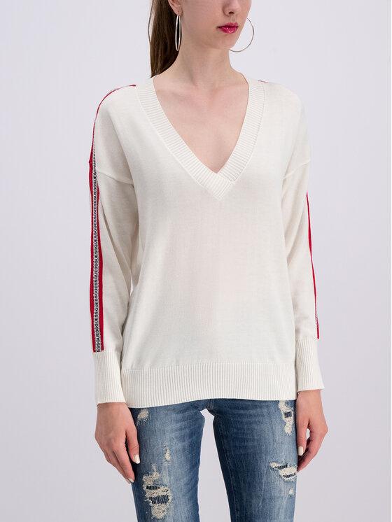 Guess Guess Pullover Julie W93R81 Z2G40 Weiß Regular Fit