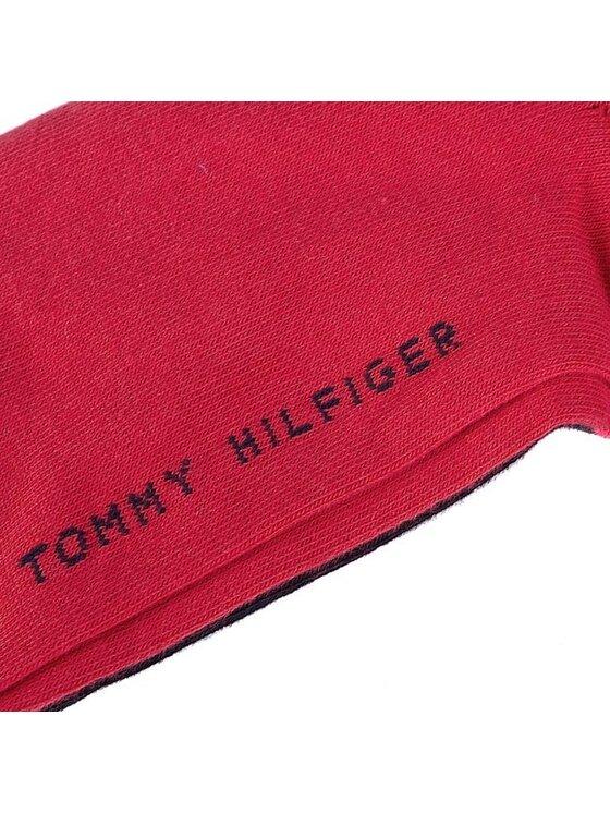 Tommy Hilfiger Tommy Hilfiger Zestaw 2 par niskich skarpet męskich 342025001 Apple Red/Navy 486 Czerwony
