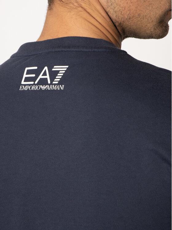 EA7 Emporio Armani EA7 Emporio Armani Felpa 3HPM27 PJ05Z 1554 Blu scuro Regular Fit