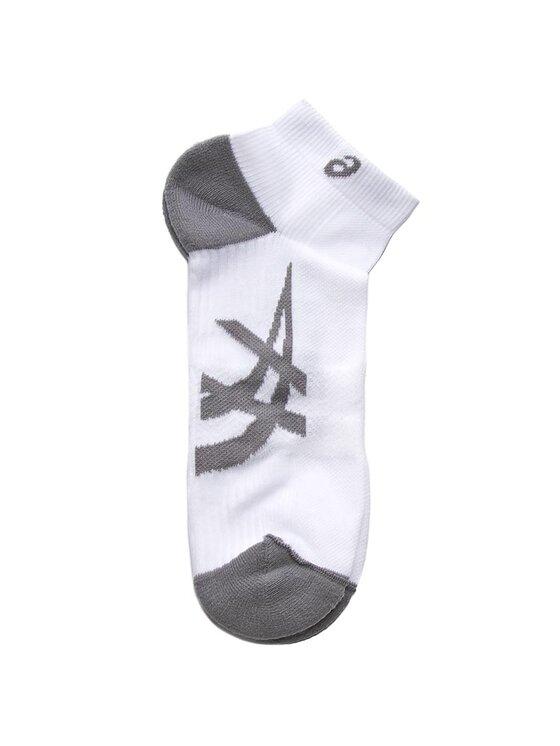 Asics Asics Комплект 2 чифта къси чорапи унисекс 2PPK Lightweight Sock 130888 Бял