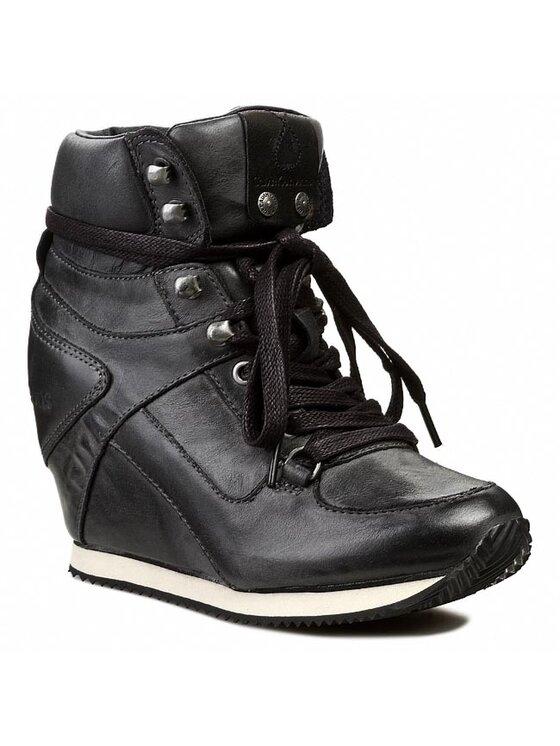 Calvin Klein Jeans Calvin Klein Jeans Sneakers Vania Tumbled Calf RE8769 Negru