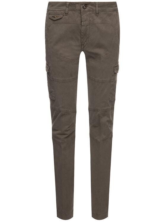 Aeronautica Militare Aeronautica Militare Pantaloni di tessuto 192PA1358CT2053 Verde Regular Fit