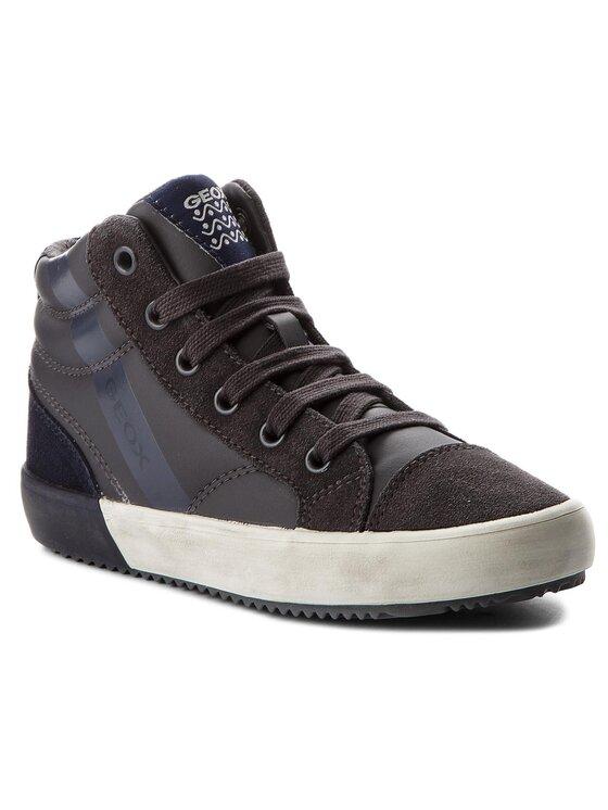 Geox Geox Šnurovacia obuv J Alonisso B. A J742CA 05422 C0739 S Sivá