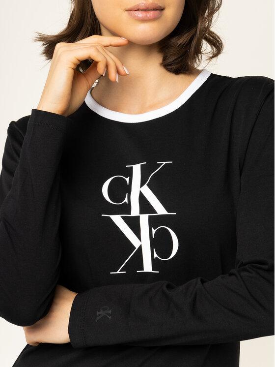 Calvin Klein Jeans Calvin Klein Jeans Bluză J20J213067 Negru Regular Fit