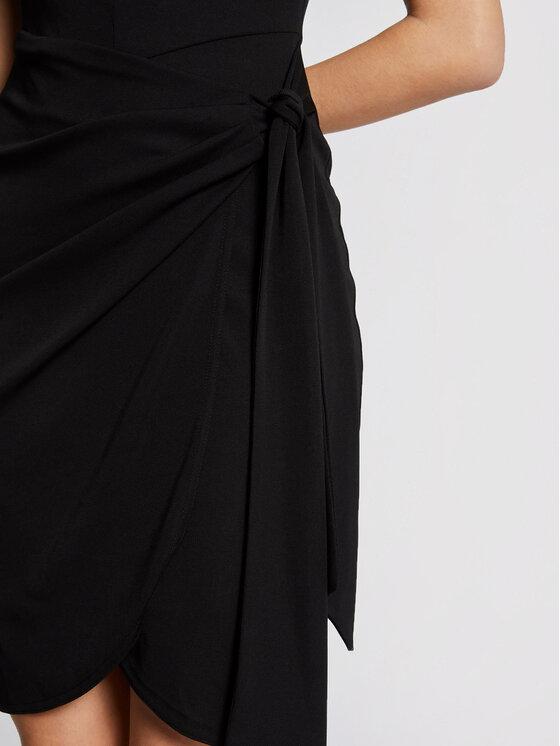 Morgan Morgan Sukienka koktajlowa 211-RPRETTY Czarny Slim Fit