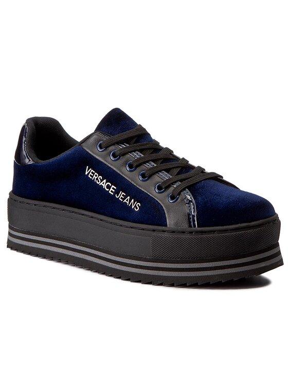 Versace Jeans Versace Jeans Sneakersy E0VQBSF1 Tmavomodrá