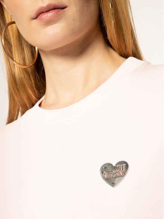 LOVE MOSCHINO LOVE MOSCHINO Суитшърт W630682E 2124 Розов Regular Fit
