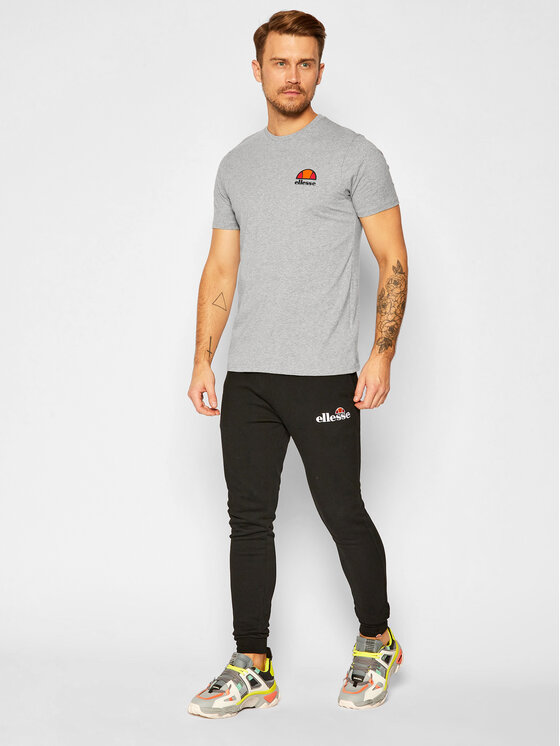 Ellesse Ellesse T-Shirt Canaletto SHS04548 Szary Regular Fit