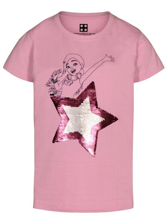 LEGO Wear LEGO Wear T-Shirt 51303 22517 Różowy Regular Fit