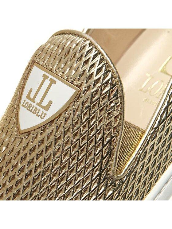 Loriblu Loriblu Tenisówki 6E VS0823 VV Złoty