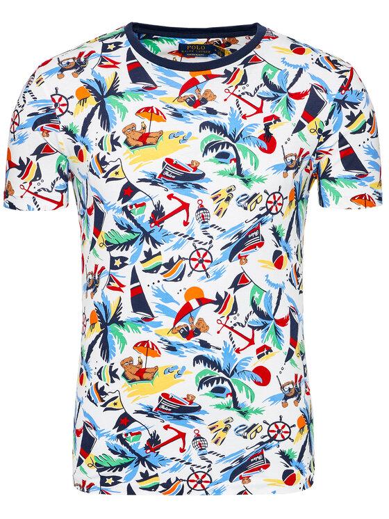 Polo Ralph Lauren Polo Ralph Lauren T-Shirt Ssl 710835281001 Kolorowy Slim Fit
