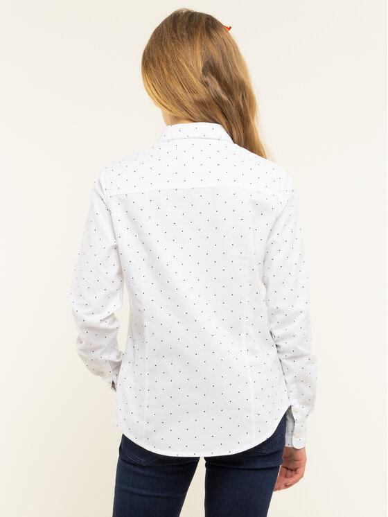 Tommy Hilfiger Tommy Hilfiger Ing Essential Oxford Shirt KG0KG04455 D Fehér Regular Fit