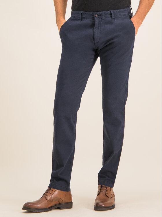 Roy Robson Medžiaginės kelnės 941-51 Tamsiai mėlyna Slim Fit