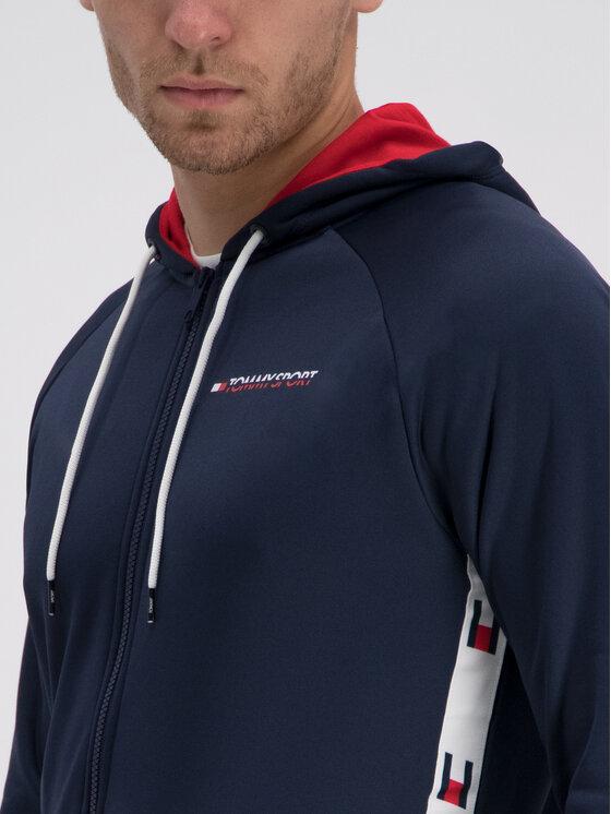 Tommy Sport Tommy Sport Bluza S20S200137 Granatowy Regular Fit